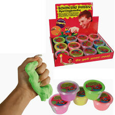 4 x Bouncing putty per Bambini Divertente Giocattolo Regalo Stampo Stretch Putty MAGICO LANCIA