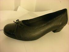 DB easyb Da Bella Gillian Black Leather Size 7(EE).