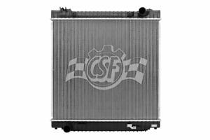 CSF Radiator 2 Row Plastic Tank Aluminum Core For Ford Club Wagon-Super Duty