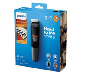 Philips MG5720/15 Series 5000 Head to Toe Styling Dualcut Clipper 100-240V