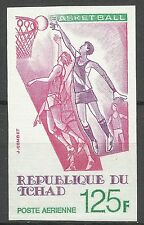Tchad Sport Jeux Olympiques Basket Ball Olympic Games Non Dentele Imperf ** 1977