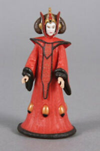 Star Wars POTJ Queen Amidala Theed Invasion Loose Action Figure MINT
