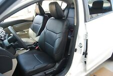 TOYOTA PRIUS C 2012-2014 LEATHER-LIKE CUSTOM SEAT COVER