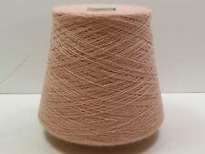 N14 500g KASCHMIR / BABY ALPAKA ROSA (15/2) Wolle Zwirn Strick
