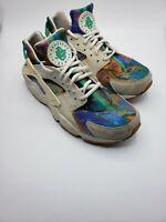 Nike Air Huarache Run Print Alternate Galaxy Mens Running Shoes AQ0533-100 Sz 9