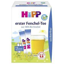 Hipp bébé bio-Fennel Tea x15 Sain Boissons Pour Bébés So Cool