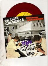 "THOUGHT CRIMINALS Peace Love & Under Surveillance 7"" EP w/PS POST PUNK Coloured"