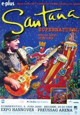 SANTANA - 2000 - Konzertplakat - Concert - Supernatural - Tourposter - Hannover