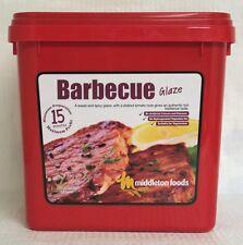 Middleton Foods 🌾 Meat Vegetable Glaze Marinade Seasoning Mix 2.5kg Red Tub Barbecue