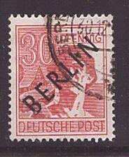 Berlin 11 V Plattenfehler gestempelt Schwarzaufdruck Abart geprüft (21856)