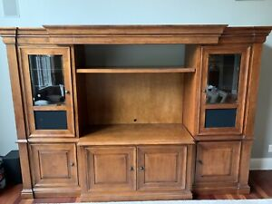 Hooker Furniture Brand- wood entertainment center - 3 pieces