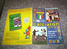 ALBUM CALCIATORI PANINI 1973-74 COMPLETO ORIGINALE CON CEDOLA FIGURINE