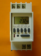 Single Channel - DIN Rail Programmable Timer Switch TM-848