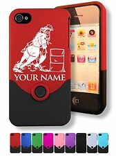 iPhone 4 4S Case/Cover - COWGIRL BARREL RACER, RACING, Personalized for FREE