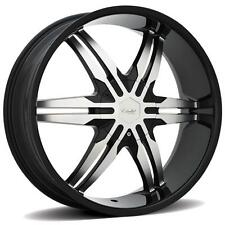 ESTRELLA CURSA 28 x 9.5 BLACK RIMS WHEELS EXPEDITION NAVIGATOR F-150 MARK