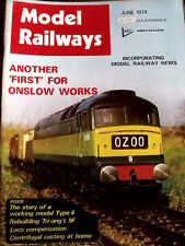 Model Railways June 1974 - Drawing LM & SR 3500 Gallon tender -Tr.20