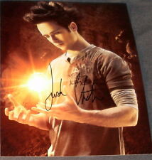 JUSTIN CHATWIN SIGNED AUTOGRAPH DRAGONBALL PROMO PHOTO