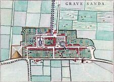 Reproduction plan ancien de 's-Gravenzande 1649