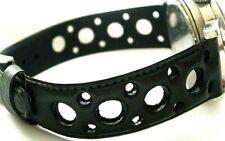 bracelet 18 mm strap band plongée dive armband racing rally nautic auto moto 70s