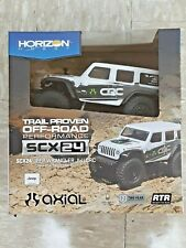 Axial SCX24 2019 Jeep Wrangler JLU CRC 1/24 4WD RTR Scale Mini Crawler White New