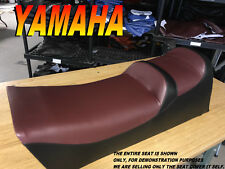 YAMAHA VENTURE 1991-96 2up seat cover VT480 GT XL TR 480 burgundy/black 983A