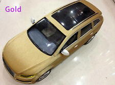 Gold Brushed vinyl car wrap film Car Body Decal Sticker Film60''x20''Bubble Free