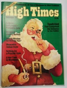 HIGH TIMES SPECIAL DOUBLE ISSUE VINTAGE DEC 1976 MARIJUANA MAGAZINE WEED 420 N/M