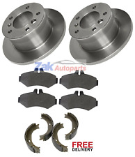 FOR MERCEDES SPRINTER 308 311 313 316 CDi REAR BRAKE DISCS, PADS & SHOES *NEW*