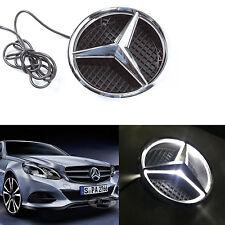 Illuminated LED Light Front Grille Grill Star Emblem for 2011-2017 Mercedes Benz