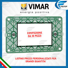 VIMAR SUPPORTO 2M GRIFFE INT71 SERIE PLANA 14602