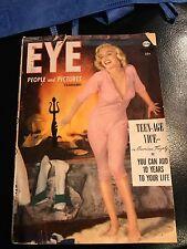 MARLYN MONROE COVER EYE MAGAZINE 1953