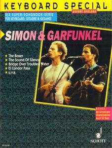 Simon & and Garfunkel The Best of Songbook Noten Keyboard leicht Gitarre Gesang