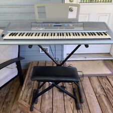 Yamaha Keyboard, Portable Grand Piano DGX 202, Plus Stand, Chair, & Cover