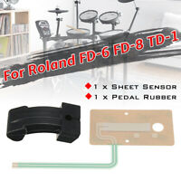 Sheet Sensor Actuator Fits For Roland FD-8 TD-1 Hi Hat Pedal Rubber Part @ 🔥 ✌