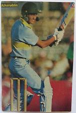AZHARUDDIN Sport Memorabilia Postcard Indian Cricket team player