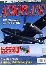 Aeroplane Monthly 1996 September Tigercat,Gee Bee,Meteor,Boulton Paul,Albermarle
