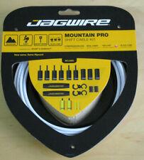New Jagwire Mountain Pro Shift Cable Kit SRAM Shimano Derailleur White 3.2m