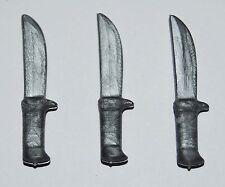 25713 Cuchillo gris 3u playmobil,knife,medieval