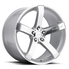 MRR VP5 19x9.5 5x108 Silver Wheels Rims (Set of 4)
