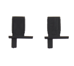 REMIS 1230165 Flyscreen, Blind End Clips (Pair) - Black
