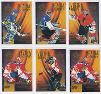 1996-97 Fleer Vezina Trophy Goalie Inserts - Pick From List - RARE