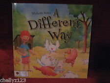NEW CHILDRENS BOOK- A DIFFERENT WAY -SCHOOL, HOME, DOG
