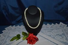 Antique Necklace of Pearl Mother-Of-Pearl