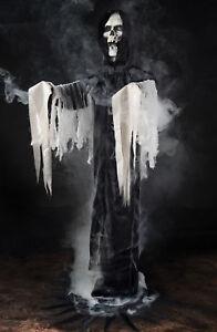 Reaper Fogger Phantom in Black Halloween Prop Haunted House Decor Fog Machine