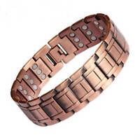 Largest Pure Copper Magnetic Bracelet Arthritis Pain Relief Balance Energy Mens