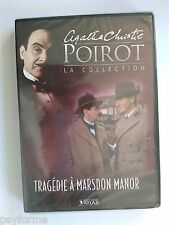DVD Editions ATLAS HERCULE POIROT Agatha Christie Tragédie Marsdon Manor VOL 24