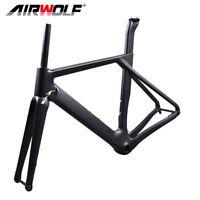 Carbon Road Frame Disc Brake Carbon Fiber Frame Bicycle Frameset 49/52/54/56cm