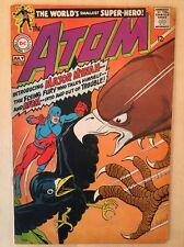 "The Atom #37 (DC, 1968);  ""Meet Major Mynah"" Atom Mascot Hawkman Cameo"