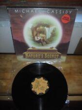 "Michael Cassidy ""Nature's Secret"" LP  Iskcon Records ITA"