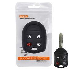 XUKEY Silicone Remote Key Cover Case Protective For Ford Edge Taurus Escape